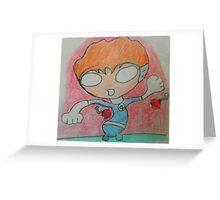 chibi Reed Richards Greeting Card