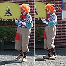 Clown on Clogs, Clearly Confused.  by MrJoop