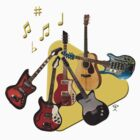 Pick Your Guitar by arline wagner