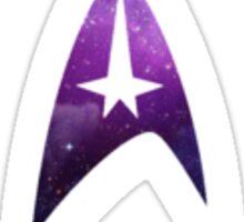 Galactic Star Trek Insignia Sticker