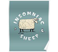 Insomniac Sheep Poster