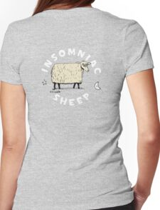 Insomniac Sheep Womens Fitted T-Shirt