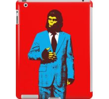 Planet of the Apes, dressed for success iPad Case/Skin