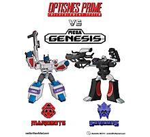 Transformers: Console Wars - OptiSNES vs. MegaGen! Photographic Print