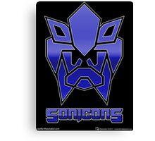 Sonicons! Canvas Print