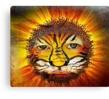 Tigerboy Sunshine Canvas Print