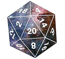 Galactic D20, version 1 by littlelionbabe
