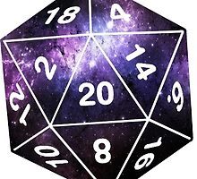 Galactic D20, version 2 by littlelionbabe