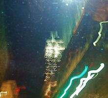 Empire State Building from 5th Avenue, NYC by RonnieGinnever