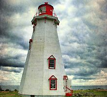 Panmure Island Lighthouse, PEI by Amanda White