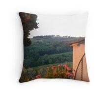 Tuscan light Throw Pillow