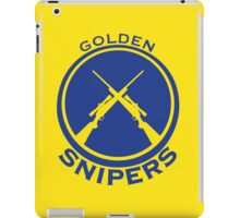 Golden Snipers (Guns) iPad Case/Skin