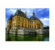 Chateau de Vaux-le-Vicomte, France Art Print
