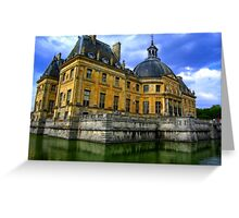 Chateau de Vaux-le-Vicomte, France Greeting Card