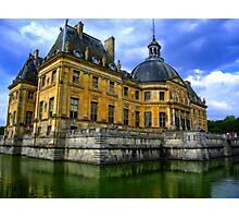 Chateau de Vaux-le-Vicomte, France Photographic Print