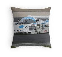 Porsche 962 Throw Pillow