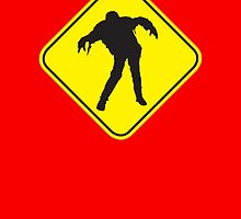 Zombies Crossing by monsterplanet
