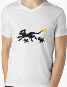 Luxray Evolution Mens V-Neck T-Shirt