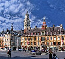 Grand' Place, Lille, France by vadim19