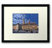 Grand' Place, Lille, France Framed Print