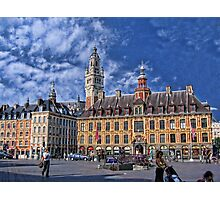 Grand' Place, Lille, France Photographic Print