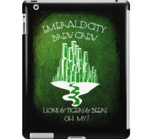 Emerald City Brew Crew iPad Case/Skin