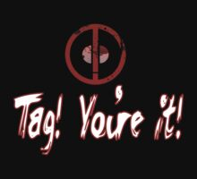 Deadpool Tag T-shirt!   by CheekyEvil