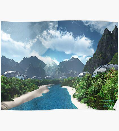 Jungle Stream Poster