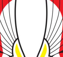 The Warriors Colours (Logo) Sticker