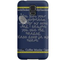 Finger prints all over Samsung Galaxy Case/Skin