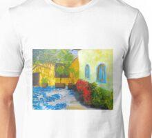 Tuscany Courtyard 2 Unisex T-Shirt
