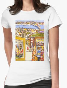 West end strolling Womens Fitted T-Shirt
