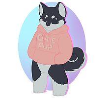 Pastel Animals - Cutie Pup by RileyOMalley