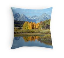 OxBow Bend Throw Pillow