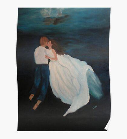 Under Water Wedding Poster