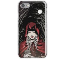 The wolf is Watching iPhone Case/Skin