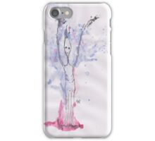 Fly up slenderman iPhone Case/Skin