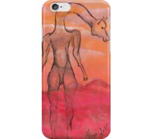 Savannah moods iPhone Case/Skin