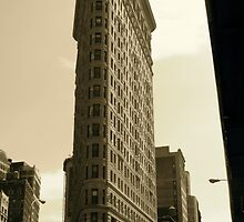 Flatiron Building New York fine art photograph NYC by LJAphotography