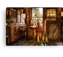 The Broom Maker Canvas Print