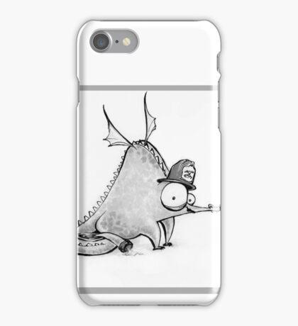 Fireman Dragon Sketch, Drippy the Dragon  iPhone Case/Skin