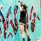 Laneway Artist by Darren Freak