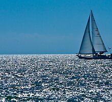 Sailing the Blue by Kent Burton