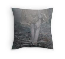 "Memory from the series ""drowning in currents"" Throw Pillow"