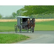 Country Ride Photographic Print