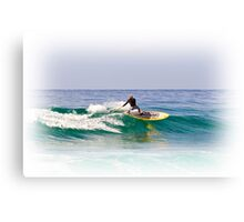 Stand up paddle board Canvas Print