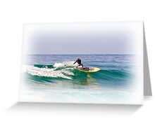 Stand up paddle board Greeting Card