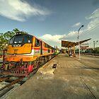 Surat Thani Station  by Rob Hawkins