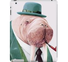 Walrus Green iPad Case/Skin