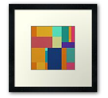Squares And Rectangles  Framed Print